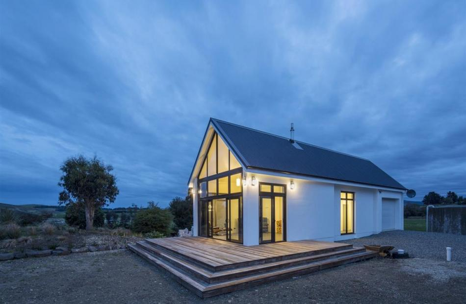 Nathan Taylor's Waipahi Abode, near Clinton, which won highly commended in the residential...