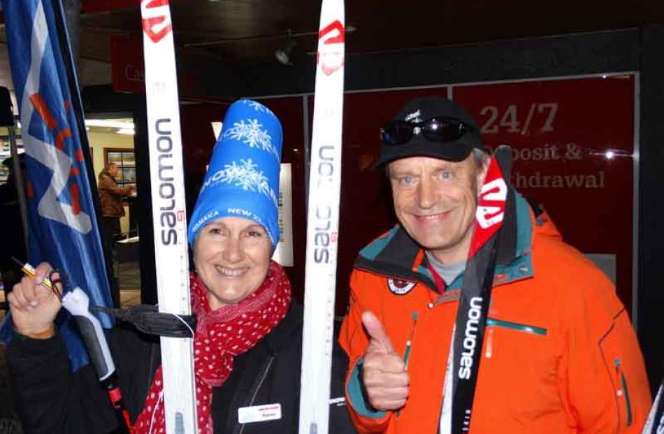 Karen Marinkovic of Wanaka, and Alexei Sotskov of the United States.