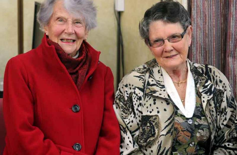 Margaret Borland and Lynette Rush, both of Dunedin.
