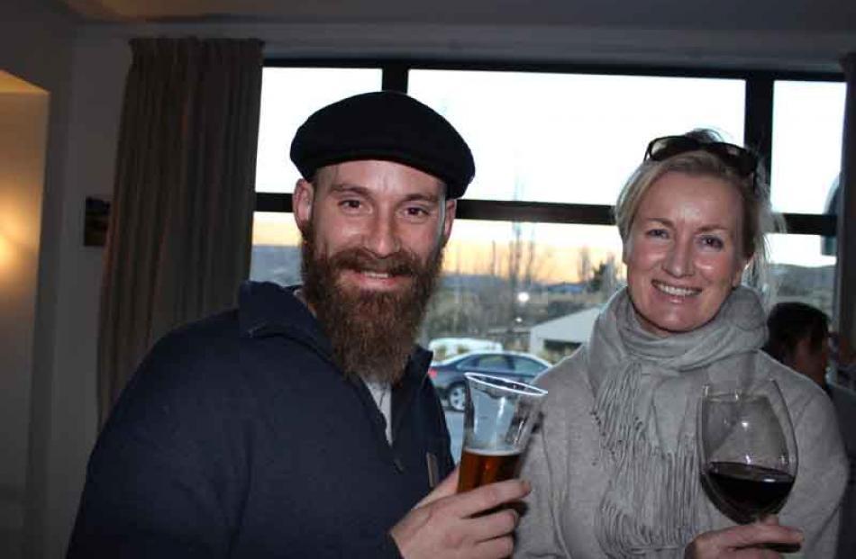 Jody Pagey and Jacqui Murphy, both of Bannockburn.