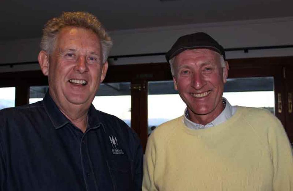 John Forrest of Bannockburn, and Craig Stobo of Queenstown.