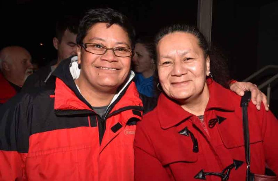 Jacinta and Emelda Nielsen, of Dunedin.