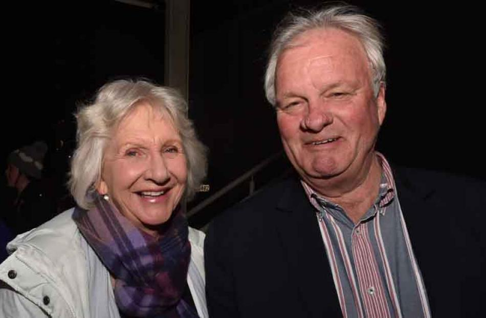 Jenny and John Guthrie, of Dunedin.
