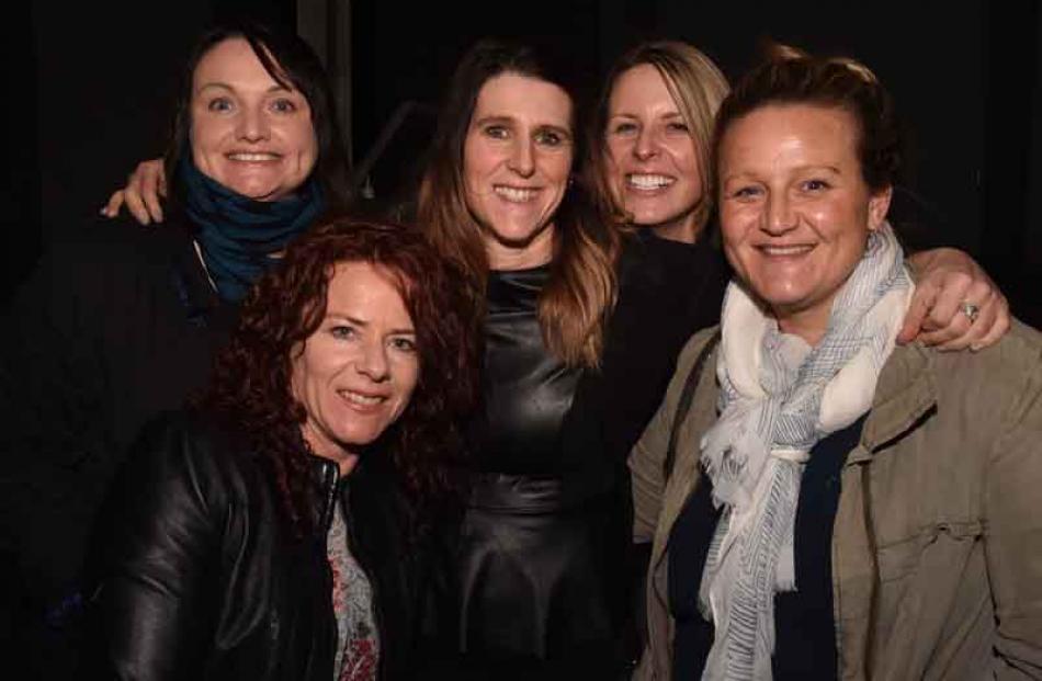 Leanne Blecher of Dunedin, and Sarah Christiansen, Paula Thompson, Tegan Wilson and Emelia...