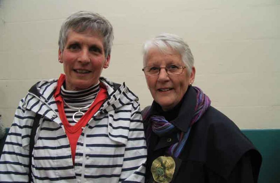 Judy Croft and Janet McGregor, both of Kurow.