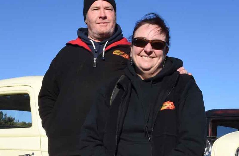 Paul Miller and Debbie Jarvis, both of Oamaru.