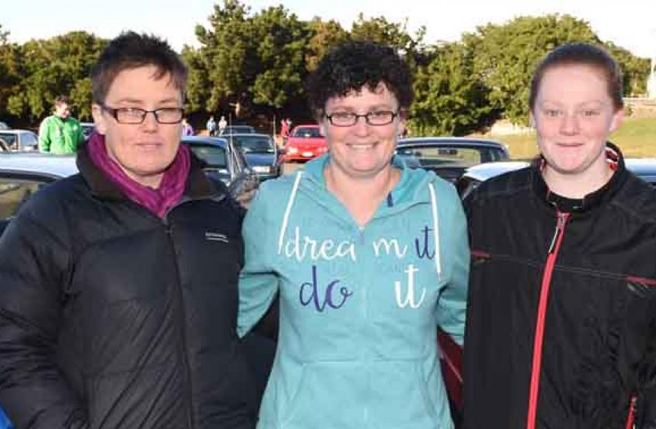 Donna-Marie Davies, Raewyn Stichman and Shanae Weatherston, all of Dunedin.