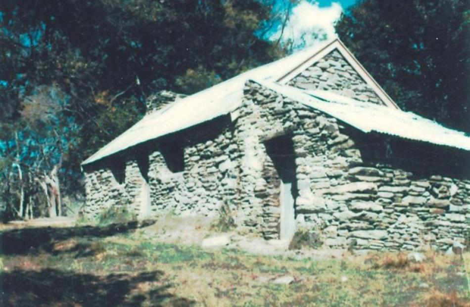A Macetown cottage after restoration.