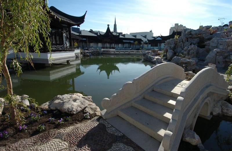 Scenes from the new Chinese garden. Photos by Peter McIntosh.