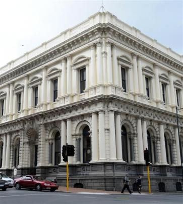 The former BNZ building (1879). Photo by Peter McIntosh.