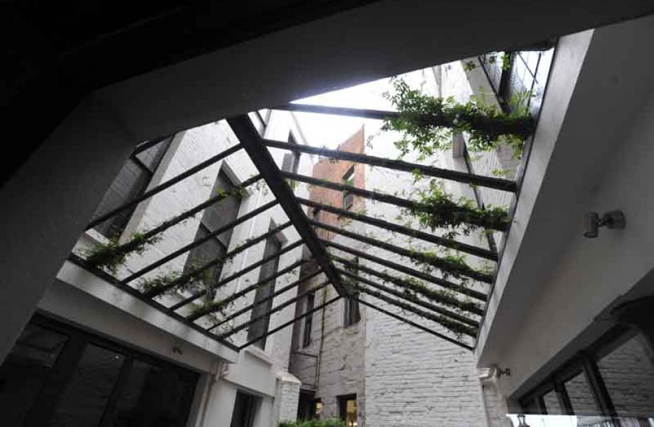 Clarion Building atrium.