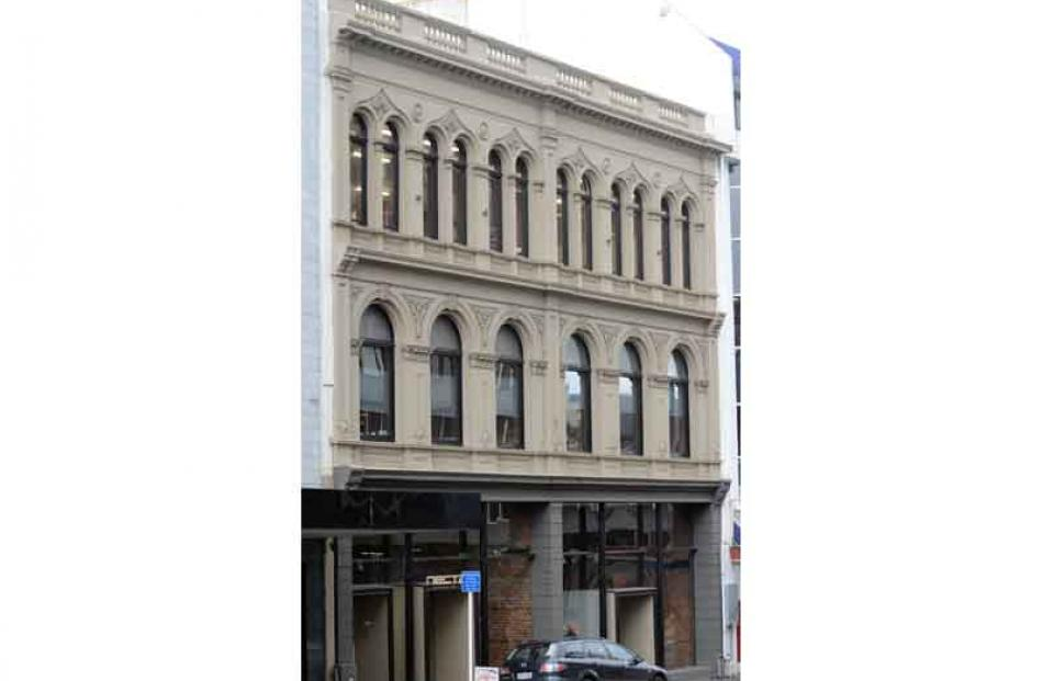 Clarion Building in Princes St.