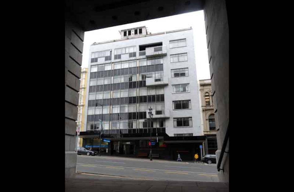 National Insurance (1958), now Go Otago House.