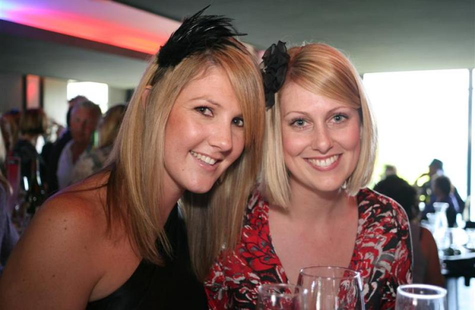 Kaili Stent and Jenelle Kurvink, of Queenstown.