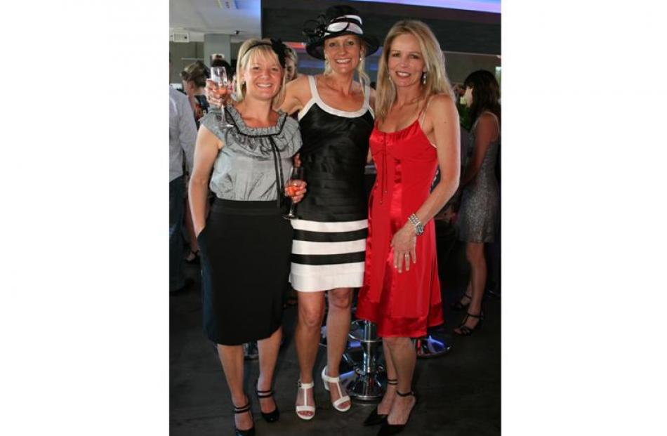 Mandy Law, Tania Campbell and Shona Campbell, all of Queenstown.