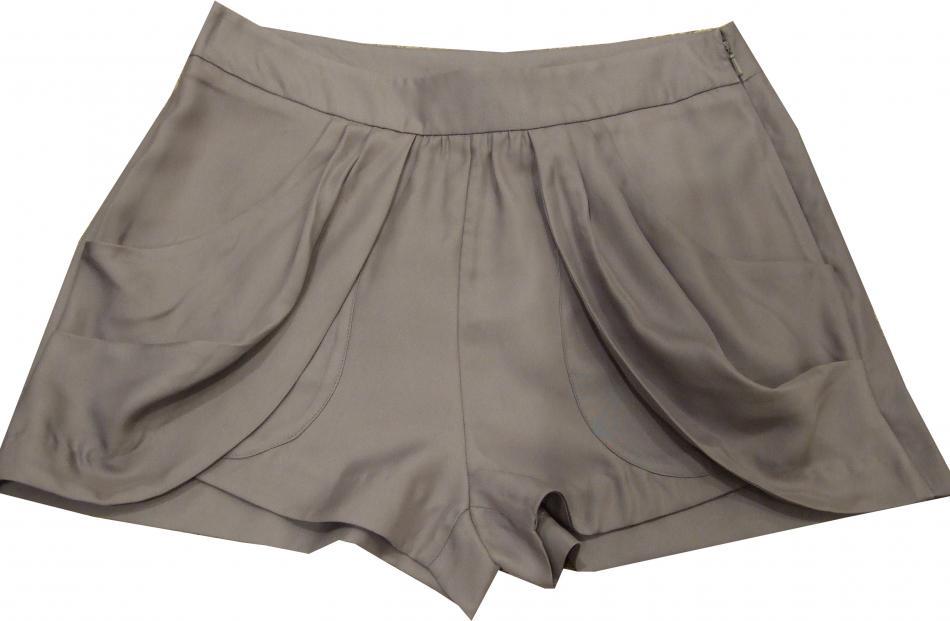 Drape Pocket shorts at Witchery ($129).