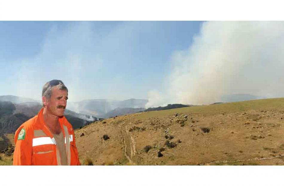 Graeme Still, principal Rural Fire officer. Photo by Peter McIntosh.