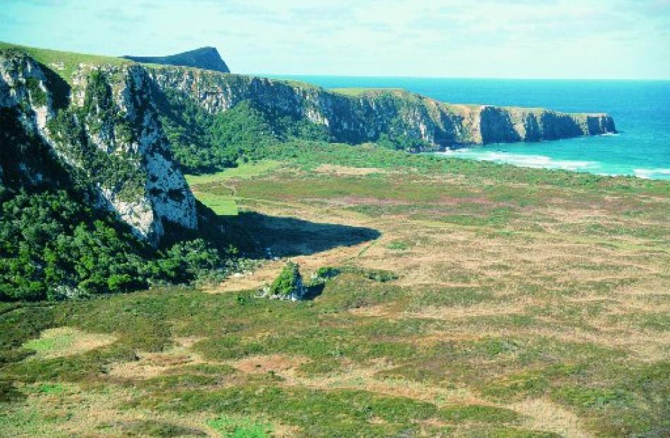 Okia Flat (at Victory Beach), on the seaward side of Otago Peninsula, where Ngati Mamoe killed...