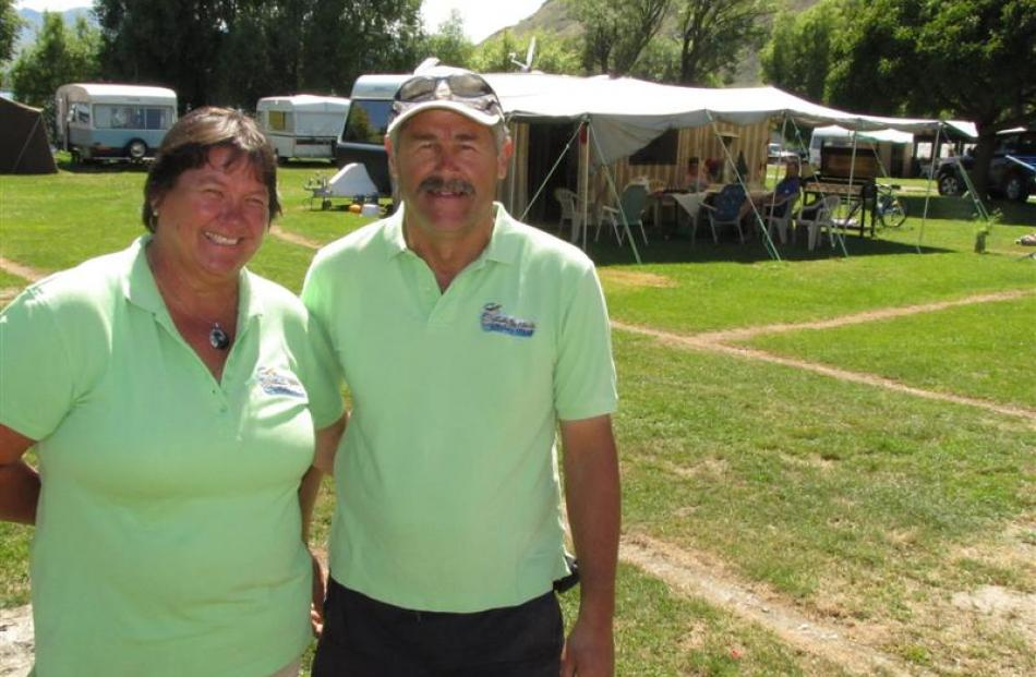 Glendhu Bay Lakeside Holiday Park managers Julie and Gavin Gray have been making last-minute...