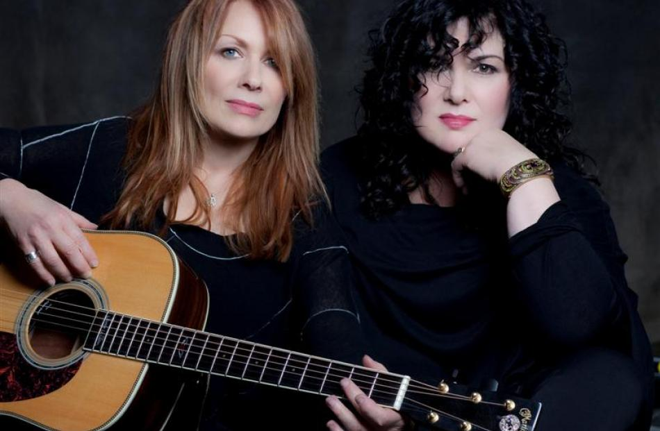 Heart: Nancy (left) and Ann Wilson. Photo by Elephant Publicity.