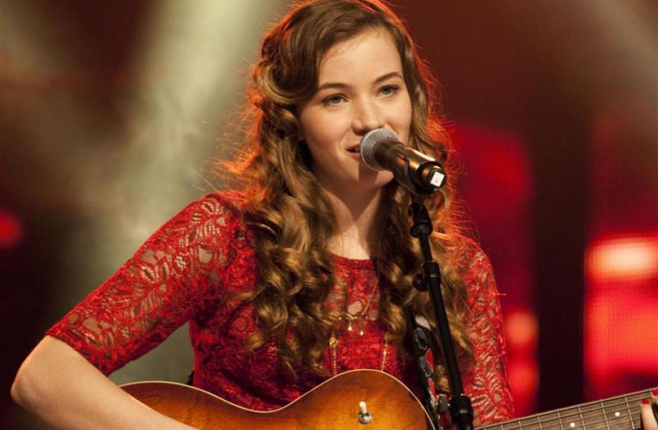 'New Zealand's Got Talent' winner Clara van Wel. Photo supplied.