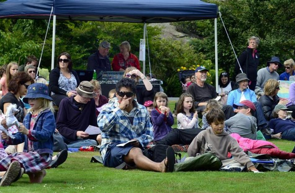 A portion of the crowd at this year's Lark in the Park. Photos by Peter McIntosh.