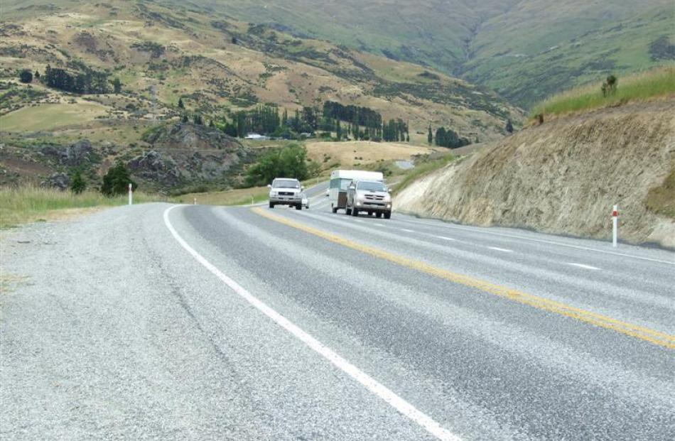A slow vehicle bay has  been completed near Gorge Creek, to give traffic a chance to safely pass...