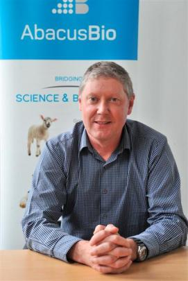 AbacusBio managing director Neville Jopson says Dunedin has an agricultural science hub, which is...