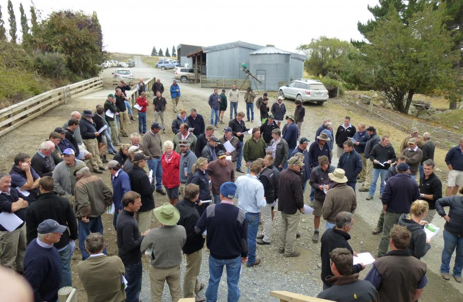 About 130 people attended the first Beef and Lamb New Zealand South Canterbury Farming for Profit...