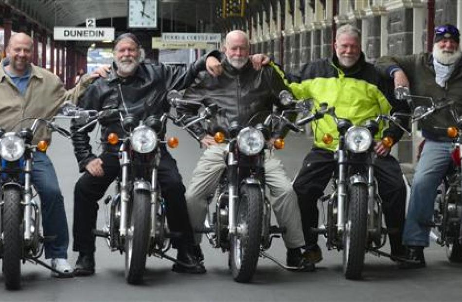 After travelling much of the South Island on Triumph Bonnevilles, the seven Gilbert brothers, ...