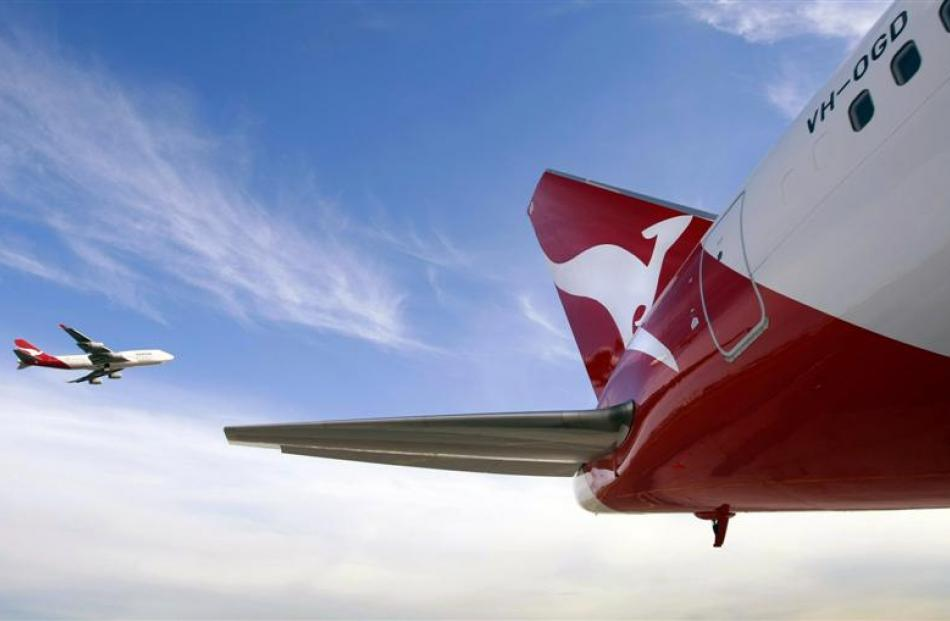 Air New Zealand and Qantas are expected to report contrasting financial results tomorrow. Photo...