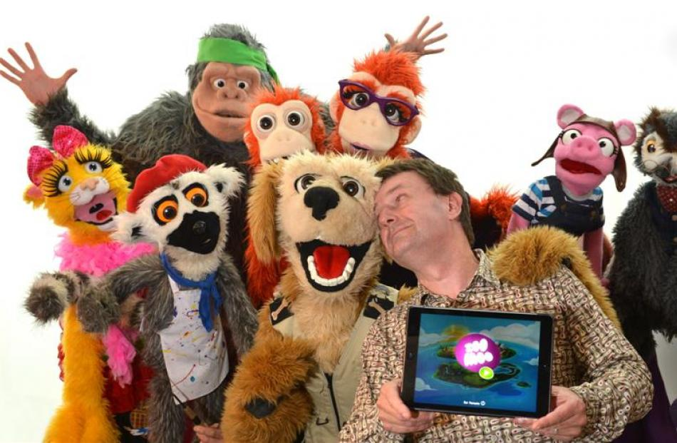 Amid the puppet characters on children's channel Zoomoo, NHNZ Kids global creative director Ian...