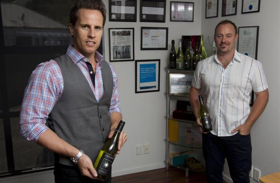 An approach by Invivo's Tim Lightbourne (left) and Rob Cameron (right) to television show host...