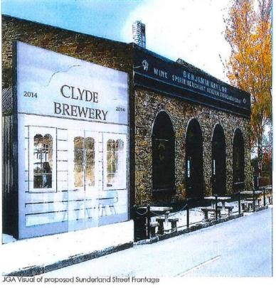 An artist's impression of the planned addition to the restaurant building. Image by Jackie...