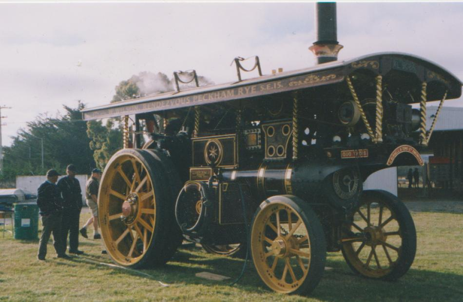 An English ''Showman's Engine'', Quo Vadis, is set to be the star attraction at the Leeston...