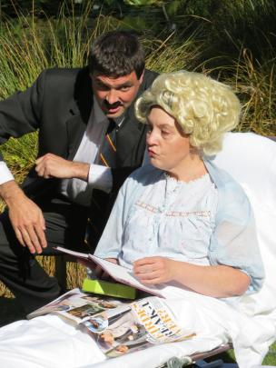 Andrew Edgar plays hapless hotelier Basil Fawlty opposite Jane Robertson as his wife Cybill in a...