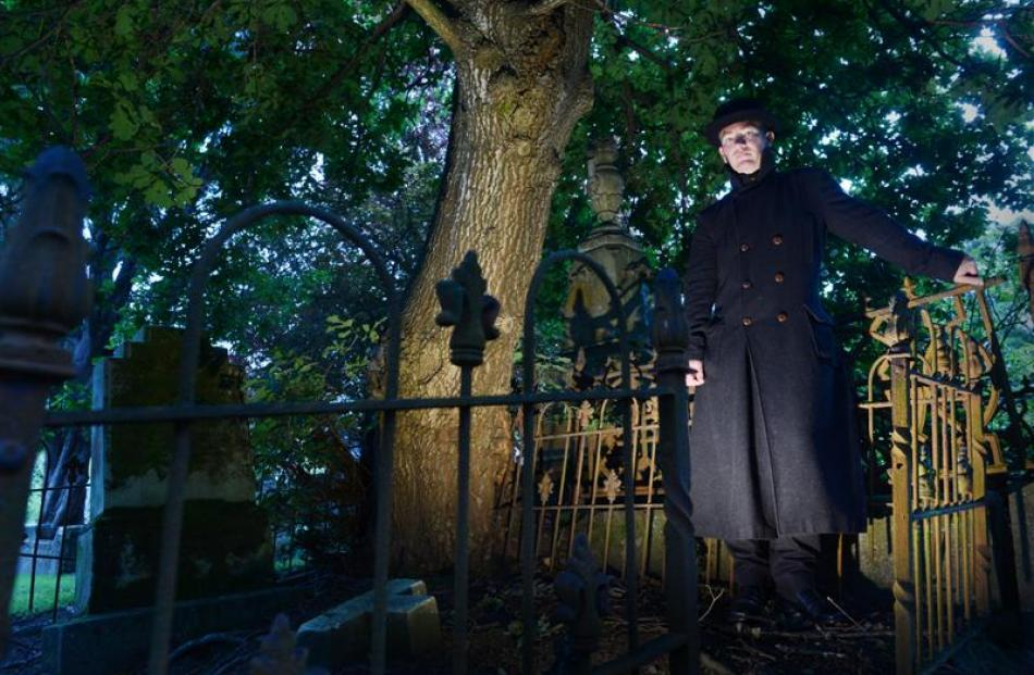 Andrew Smith will give you the jitters with his tales of Dunedin's most haunted sites.