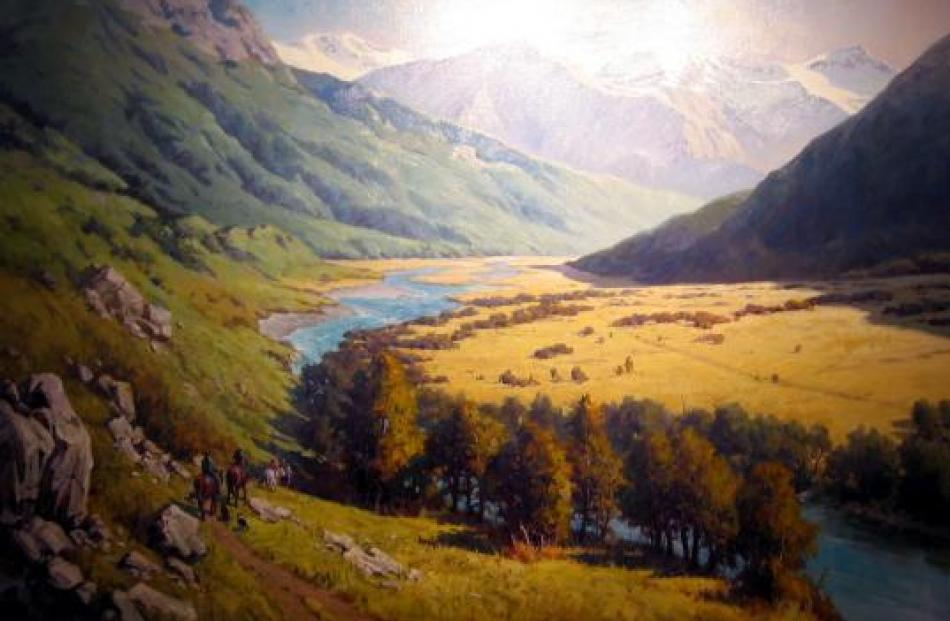 Artwork from Ben Ho, Rees Valley, Oil on canvas.