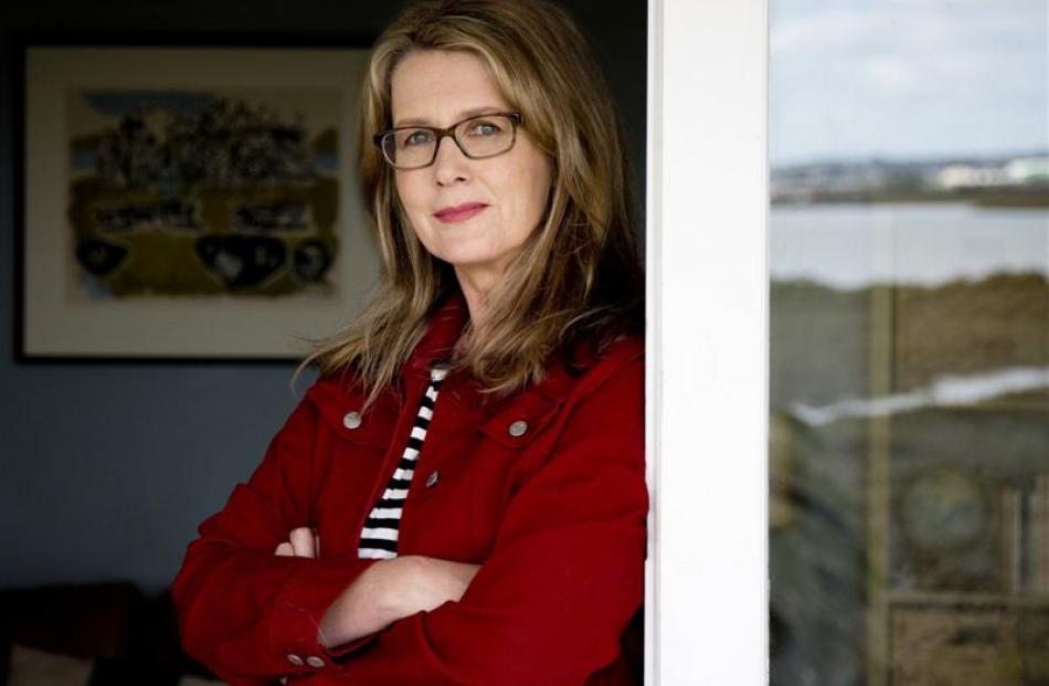 Auckland  author Bridget van der Zijpp. Photo by Jessie Casson.