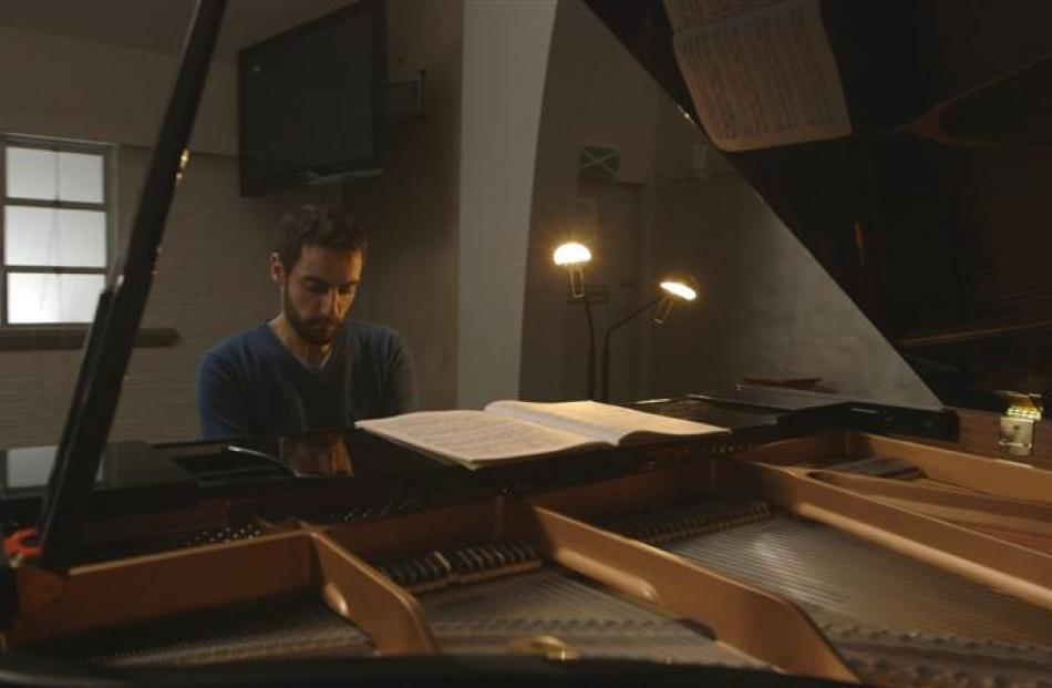 Auckland-based Italian pianist Flavio Villani: To be able to convey the architecture ... of such...