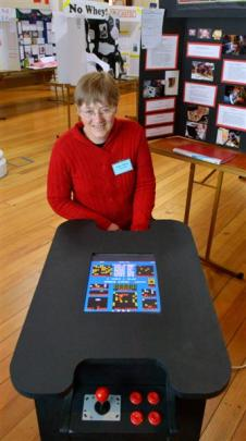 Aurora Otago Science and Technology Fair chief judge Dr Esther Haines reflects on a games console...