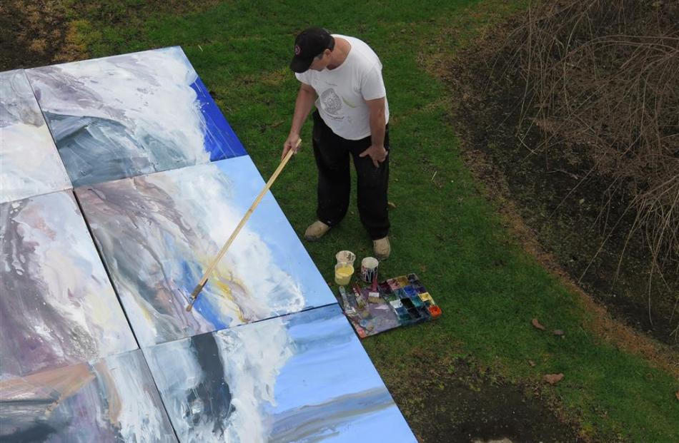 Australasian artist Euan Macleod is exhibiting in Oamaru this month. PHOTO: SUPPLIED