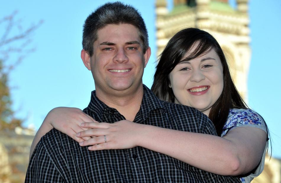 Dan's wedding proposal at comedy show is no joke | Otago