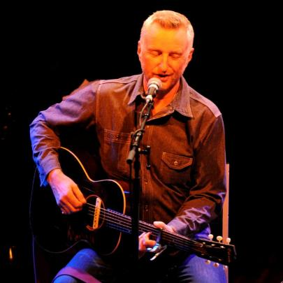 Billy Bragg performs at Otago Girls' High School last night in the final act of the 2012 Otago...