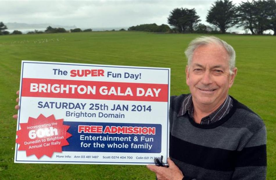 Brighton Gala Day organiser Colin Weatherall says the event will provide fun for the whole family...
