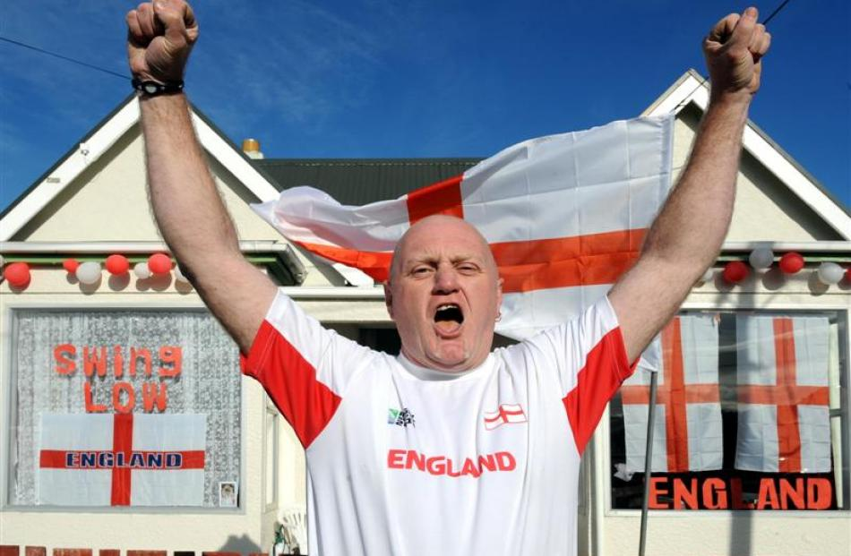 Brit Adam Morton urges others in Dunedin to show their true colours, or any colours at all, as...