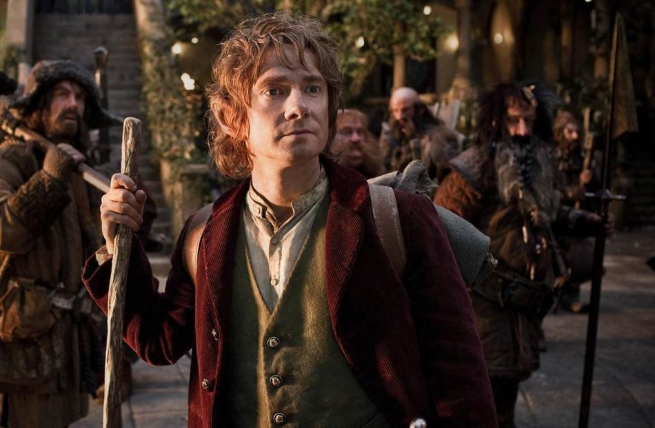British actor Martin Freeman stars as Bilbo Baggins in the eagerly awaited The Hobbit: An...