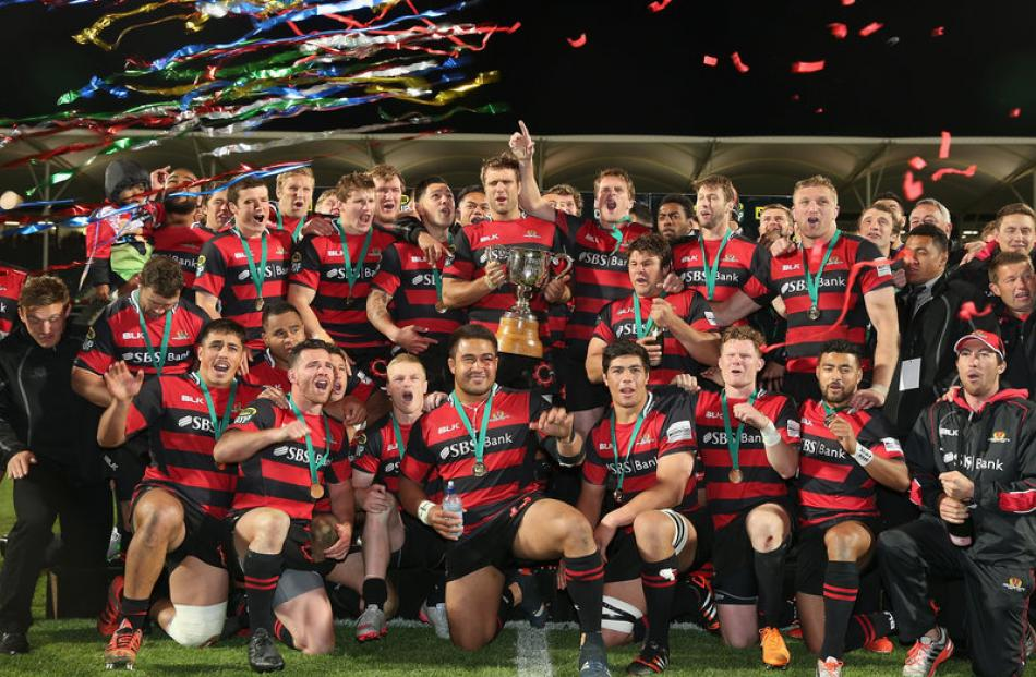 Rugby: Canterbury win provincial title | Otago Daily Times