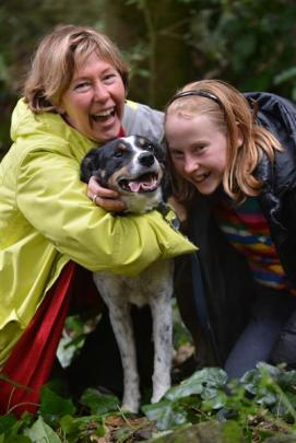 Charlotte Flaherty and her daughter Rosa  are delighted to have Smithfield collie Hero back in...