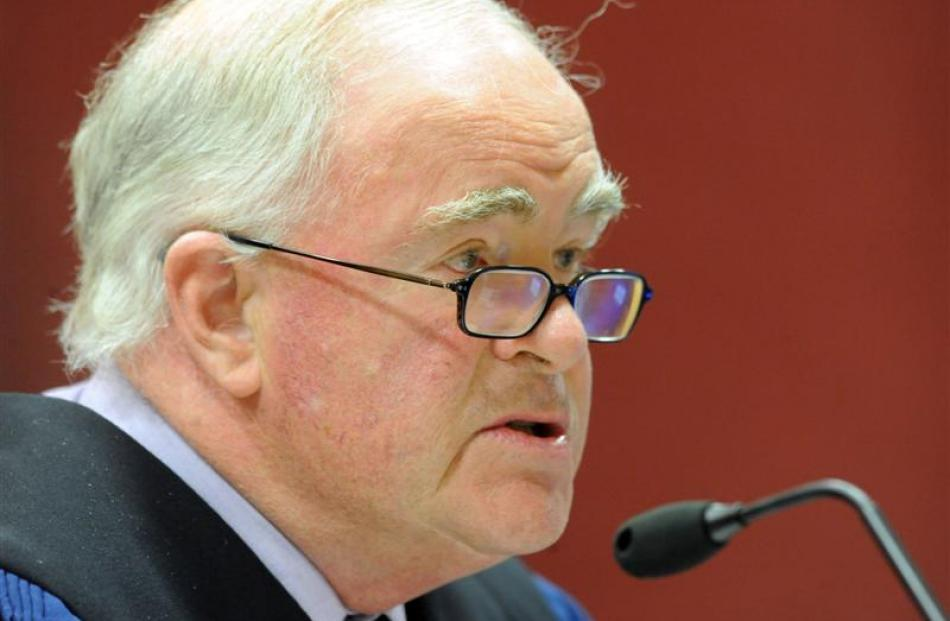 Chief Coroner Judge Neil MacLean, who will visit Dunedin, Oamaru, and Invercargill this week to...